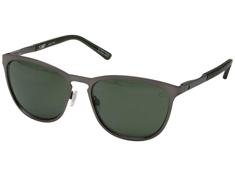 スパイオプティック メンズ サングラス・アイウェア アクセサリー Cliffside Matte Gunmetal/Matte Translucent Seaweed/Happy Gray Green
