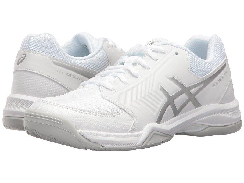 アシックス レディース スニーカー シューズ Gel-Dedicate 5 White/Silver