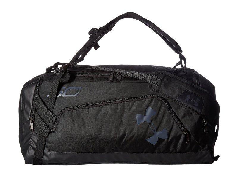 アンダーアーマー メンズ ボストンバッグ バッグ UA SC30 Backpack Duffel Black/Black/Stealth Gray