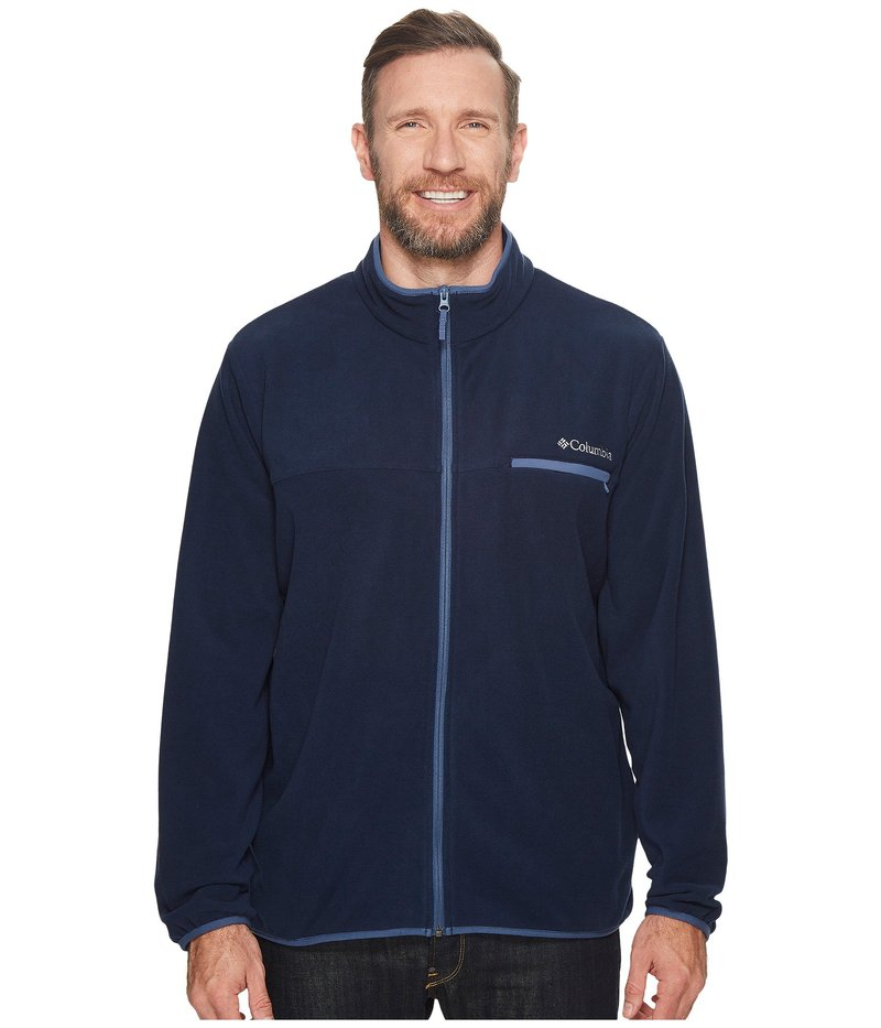 コロンビア メンズ コート アウター Mountain Crest Full Zip - Extended Collegiate Navy/Dark Mountain
