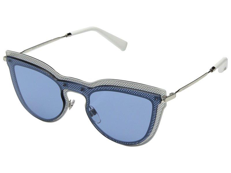 ヴァレンティノ レディース サングラス・アイウェア アクセサリー 0VA2018 Silver Top White/Light Blue