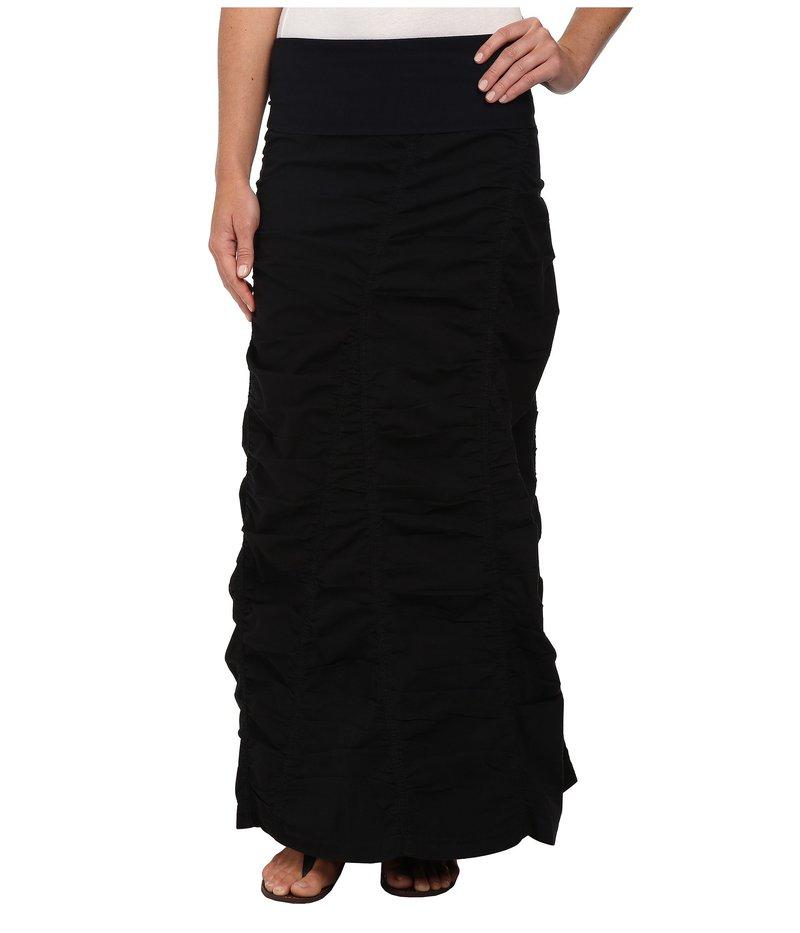エックスシーブイアイ レディース スカート ボトムス Peasant Skirt Black