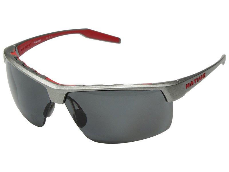 ネイティブアイウェア メンズ サングラス・アイウェア アクセサリー Hardtop Ultra XP Platinum/Gray Polarized Lens