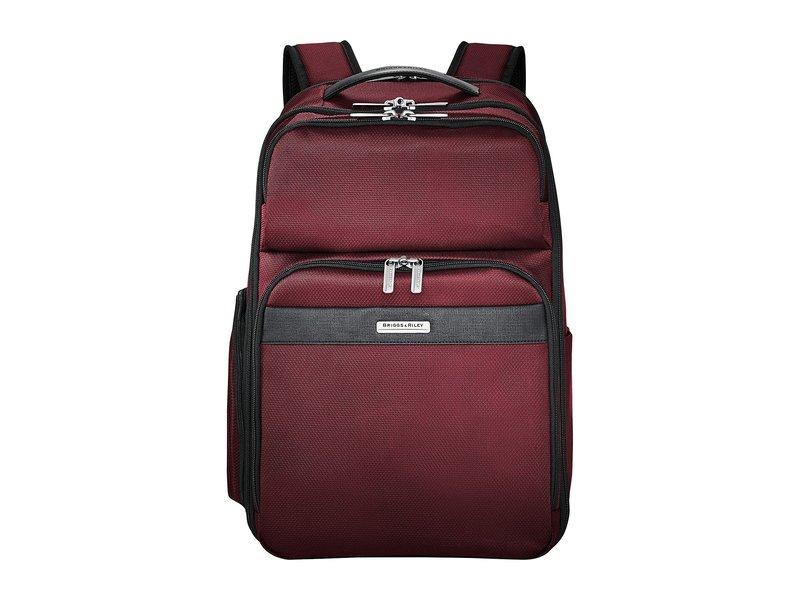 ブリグスアンドライリー メンズ バックパック・リュックサック バッグ Transcend VX Cargo Backpack Merlot Red