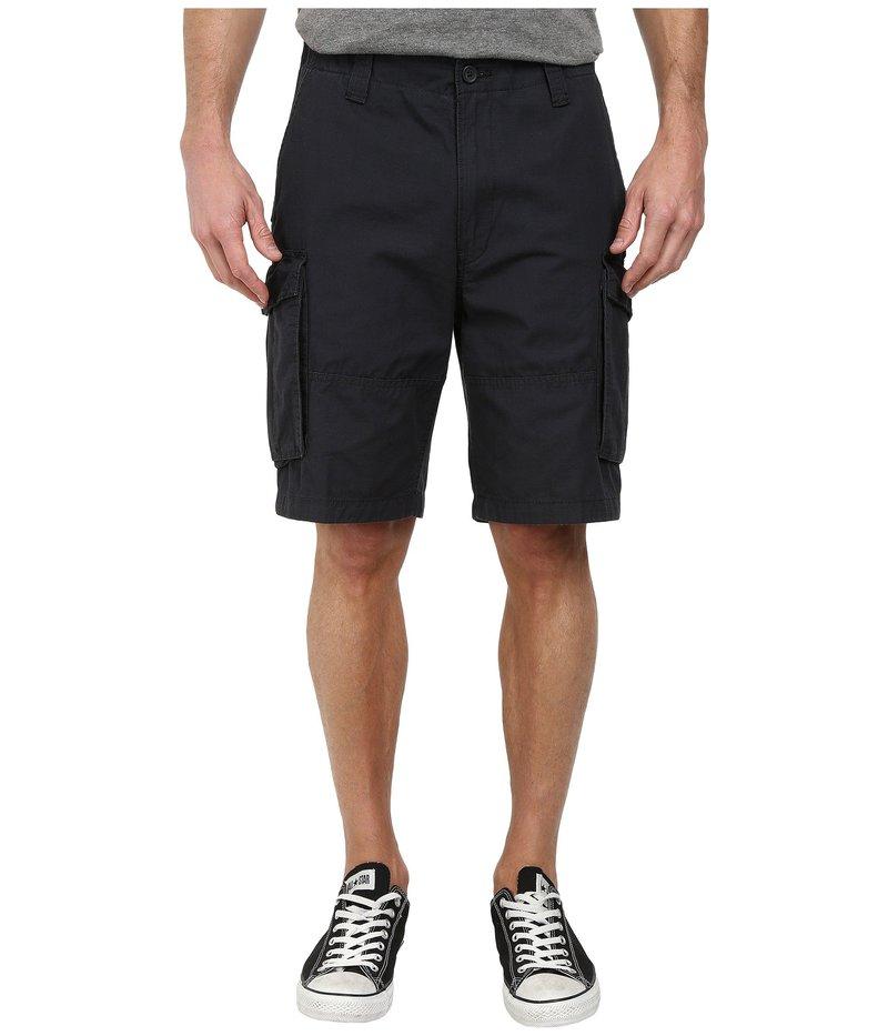 ナウティカ メンズ ハーフパンツ・ショーツ ボトムス Ripstop Cargo Shorts Off Black