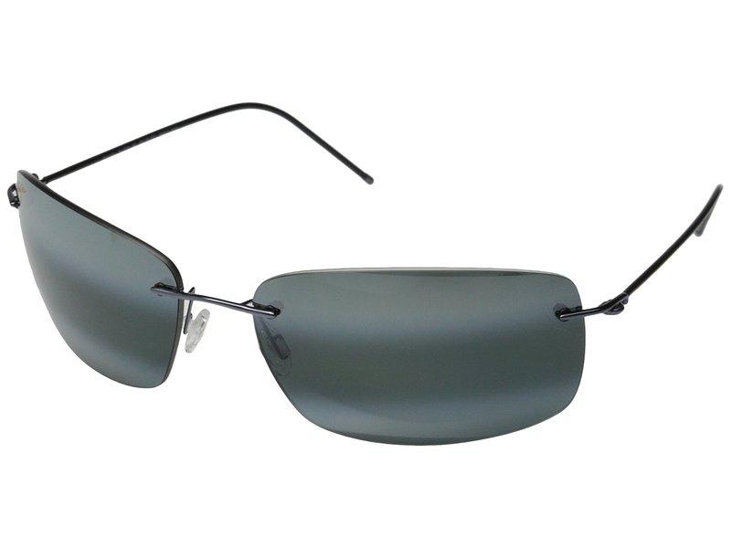マウイジム メンズ サングラス・アイウェア アクセサリー Frigate Gunmetal Blue Black/Neutral Grey