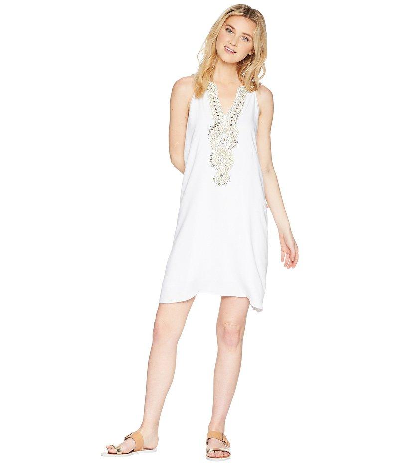 リリーピュリッツァー レディース ワンピース トップス Valli Soft Shift Dress Resort White