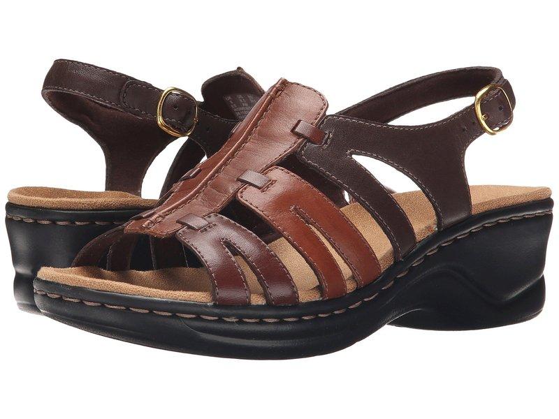 クラークス レディース サンダル シューズ Lexi Marigold Q Brown Multi Leather
