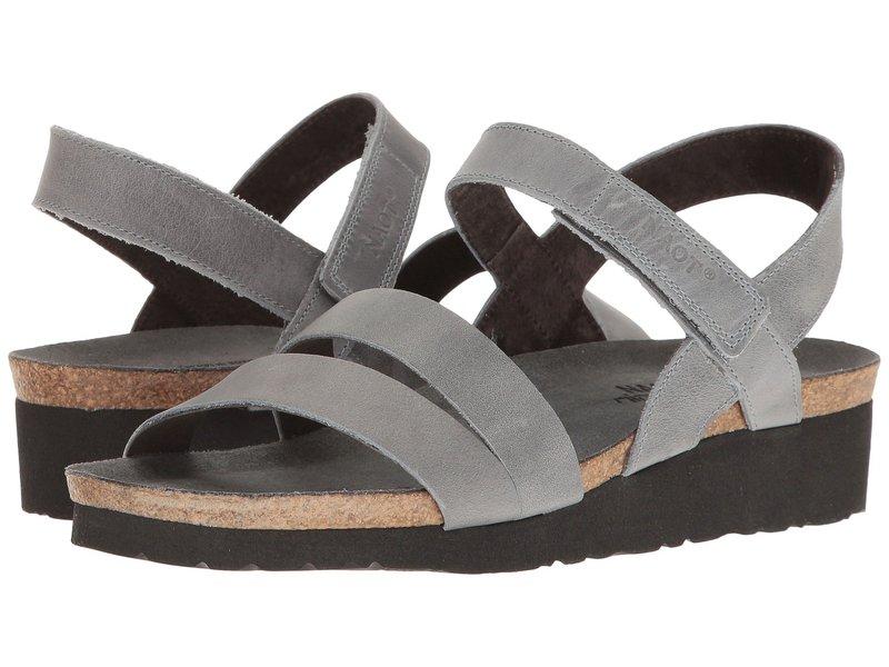 ナオト レディース サンダル シューズ Kayla Vintage Slate Leather