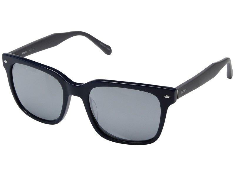 フォッシル メンズ サングラス・アイウェア アクセサリー Fossil 2056/S Blue/Black Mirror