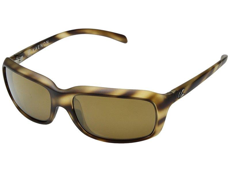 カエノン メンズ サングラス・アイウェア アクセサリー Monterey Driftwood Brown 12-Polarized Gold Mirror