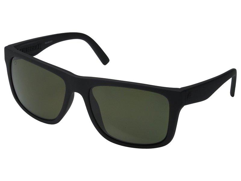 エレクトリックアイウェア メンズ サングラス・アイウェア アクセサリー Swingarm XL Polarized Matte Black/Optical Health Through Melanin Grey Polar