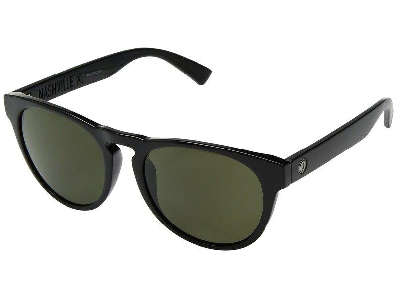 エレクトリックアイウェア メンズ サングラス・アイウェア アクセサリー Nashville XL Polarized Gloss Black/Ohm Polar Grey