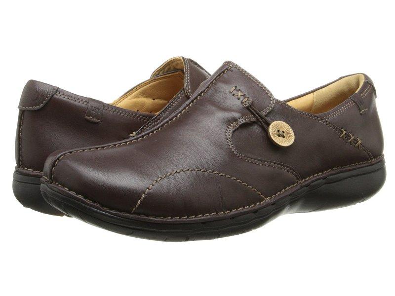 特別セーフ クラークス レディース スリッポン・ローファー シューズ シューズ Un.loop Un.loop レディース Dark Brown Leather, 内灘町:d9c1a14d --- tringlobal.org