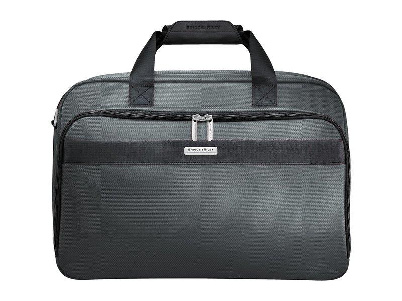 ブリグスアンドライリー メンズ ボストンバッグ バッグ Transcend VX Clamshell Cabin Bag Slate Grey