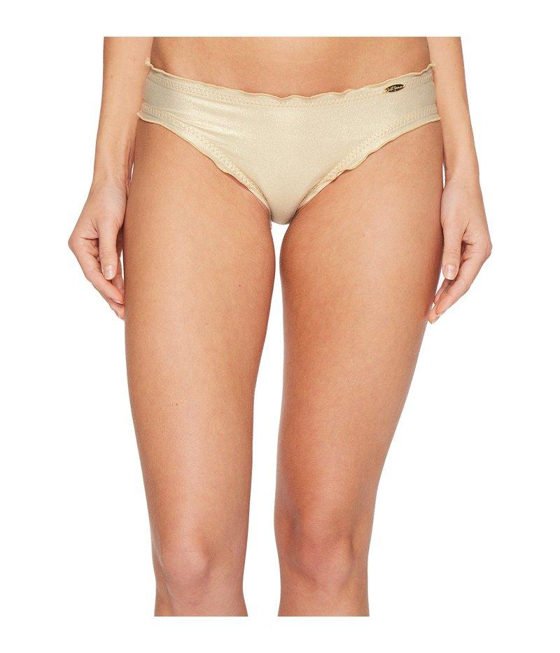 ルリファマ レディース ボトムのみ 水着 Cosita Buena Wavey Full Bikini Bottom Gold Rush