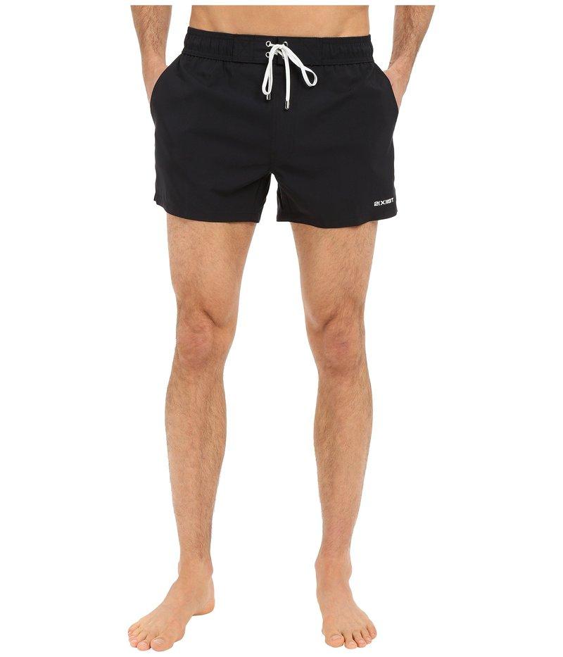 ツーイグジスト メンズ ハーフパンツ・ショーツ 水着 Essential Ibiza Black