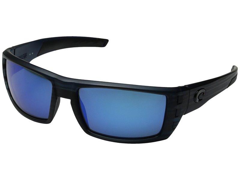 コスタ メンズ サングラス・アイウェア アクセサリー Rafael Black Teak Frame/Blue Mirror Glass W580