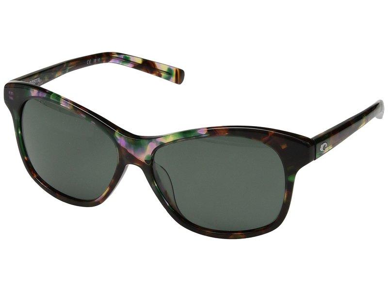 コスタ メンズ サングラス・アイウェア アクセサリー Sarasota Shiny Abalone Frame/Gray 580G
