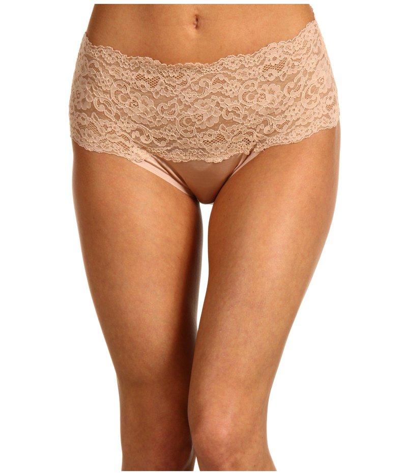 ハンキーパンキー レディース パンツ アンダーウェア Silky Skin High Rise Panty Mocha