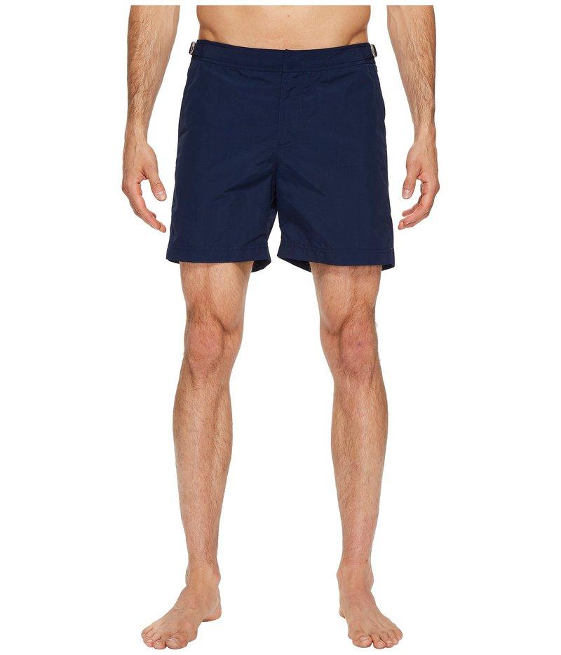 オールバー ブラウン メンズ ハーフパンツ・ショーツ 水着 Bulldog Swimsuit Navy