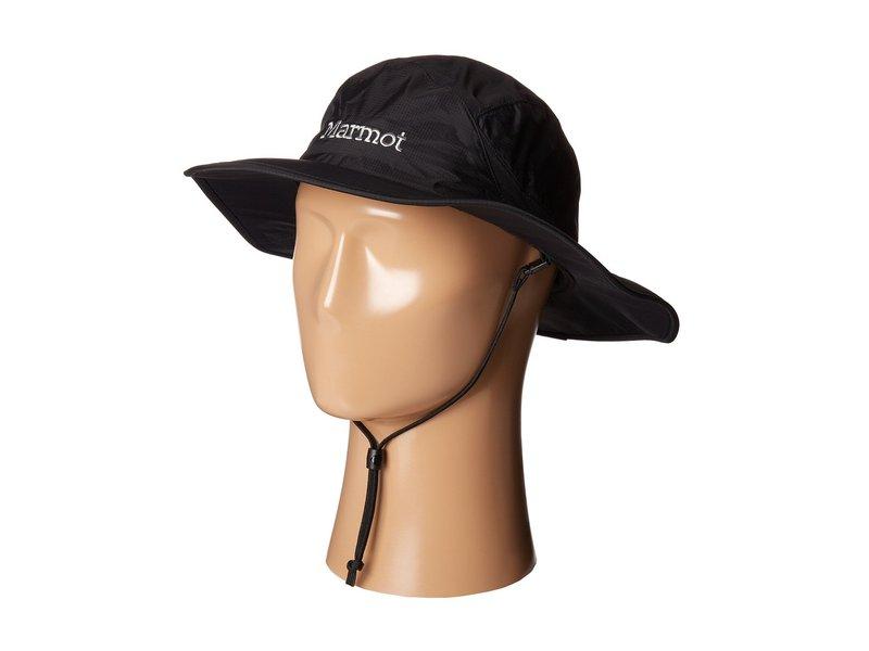 マーモット メンズ 帽子 アクセサリー PreCip Safari Hat Black 1