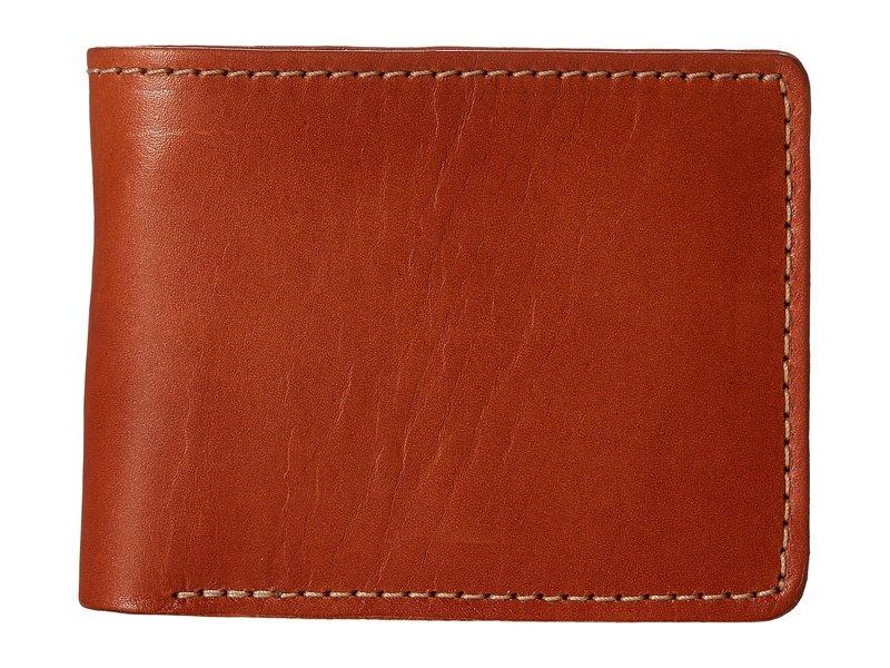 フィルソン メンズ 財布 アクセサリー Bifold Wallet Tan Leather