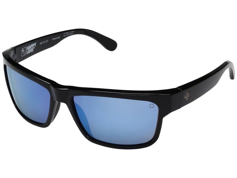 スパイオプティック メンズ サングラス・アイウェア アクセサリー Frazier Black/Happy Bronze Polar w/ Light Blue Spectra