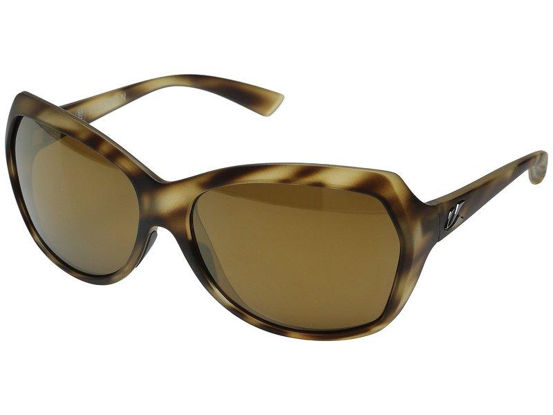 カエノン レディース サングラス・アイウェア アクセサリー Shilo Driftwood/Brown 12 Polarized Gold Mirror