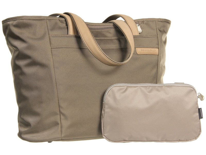 ブリグスアンドライリー メンズ ボストンバッグ バッグ Baseline - Large Shopping Tote Bag Olive