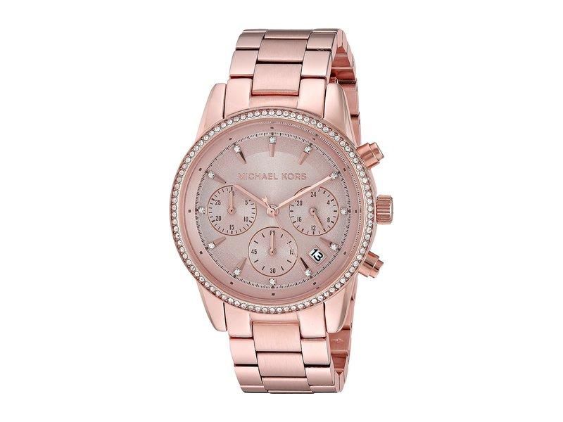 マイケルコース レディース 腕時計 アクセサリー MK6357 - Ritz Gold