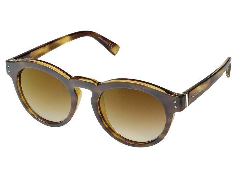 ボンジッパー メンズ サングラス・アイウェア アクセサリー Ditty Frosted Tortoise/Gold Chrome Grad