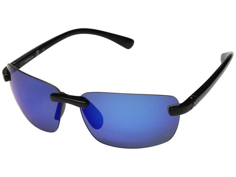 カエノン メンズ サングラス・アイウェア アクセサリー Coto Black Pacific Blue Mirror