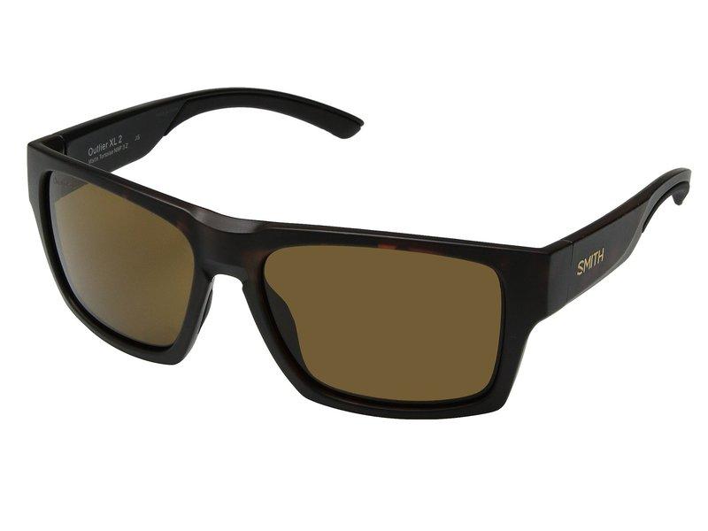 スミスオプティックス メンズ サングラス・アイウェア アクセサリー Outlier 2 XL Matte Tortoise/Brown ChromaPop Polarized Lens