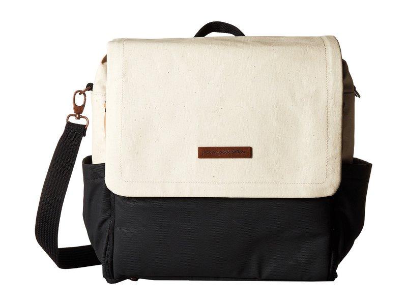 ペチュニアピックルボトム レディース マザーズバッグ バッグ Glazed Color Block Boxy Backpack Birch/Black