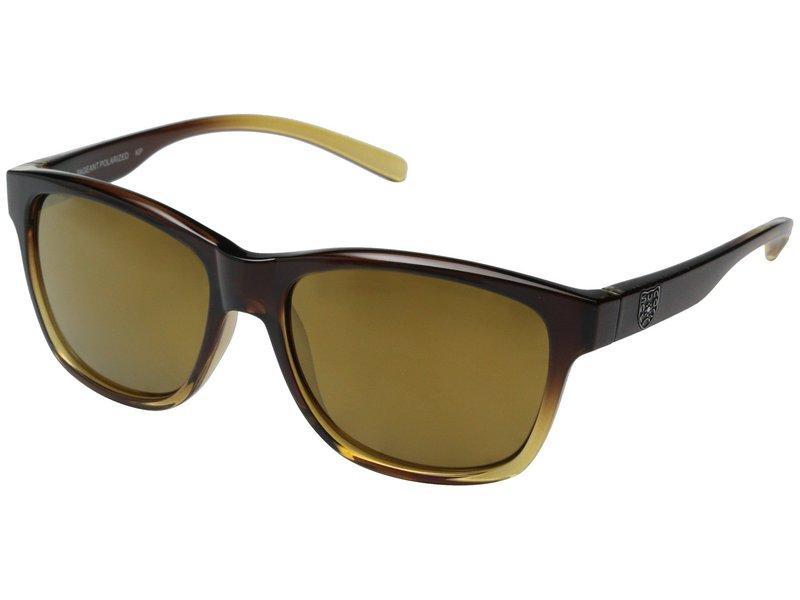 サンクラウドポラライズド レディース サングラス・アイウェア アクセサリー Pageant Brown Fade Frame/Sienna Mirror Polarized Polycarbonate Lenses