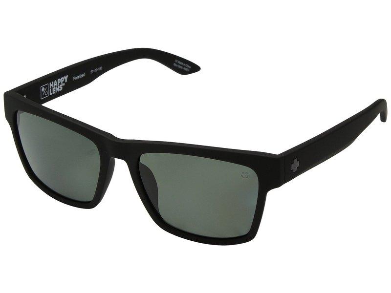 スパイオプティック メンズ サングラス・アイウェア アクセサリー Haight 2 Soft Matte Black/Happy Gray Green Polar