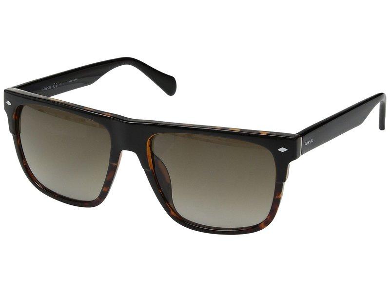 フォッシル メンズ サングラス・アイウェア アクセサリー FOS 3075/S Black Havana/Brown Gradient