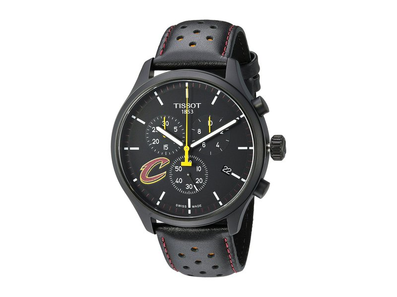 ティソット メンズ 腕時計 アクセサリー Chrono XL NBA Chronograph Cleveland Cavaliers - T1166173605101 Black/Yellow/Black