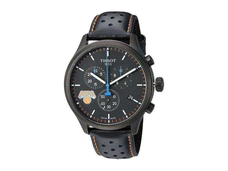 ティソット メンズ 腕時計 アクセサリー Chrono XL NBA Chronograph New York Knicks - T1166173605105 Black/Black/Blue