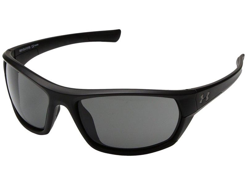 アンダーアーマー メンズ サングラス・アイウェア アクセサリー Powerbrake Satin Black/Black Frame/Gray Lens