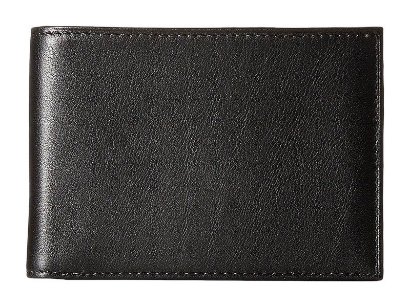 ボスカ メンズ 財布 アクセサリー Old Leather New Fashioned Collection - Small Bifold Wallet Black Leather
