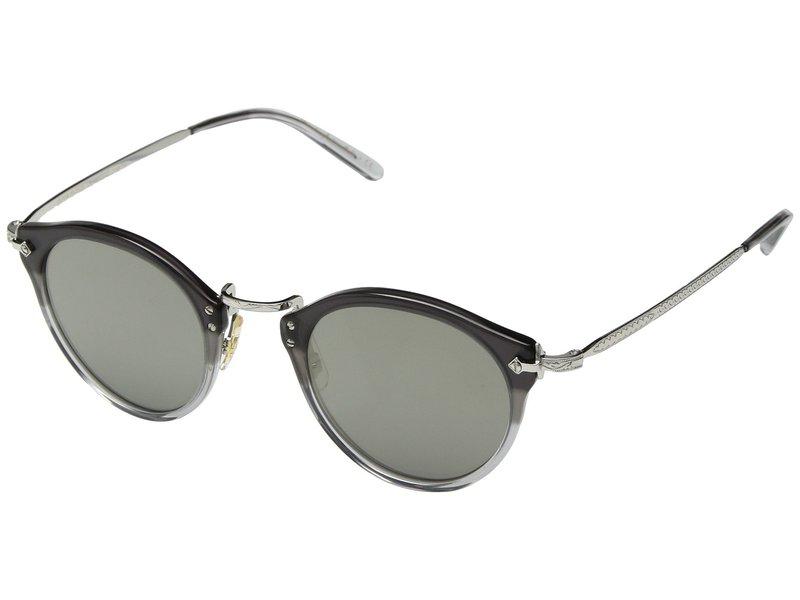 オリバーピープルズ メンズ サングラス・アイウェア アクセサリー OP-505 Sun Vintage Grey Fade/Silver/Grey Gold Tone