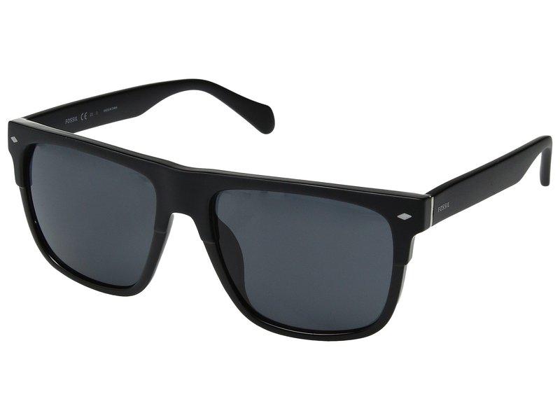 フォッシル メンズ サングラス・アイウェア アクセサリー FOS 3075/S Matte Black/Grey Blue