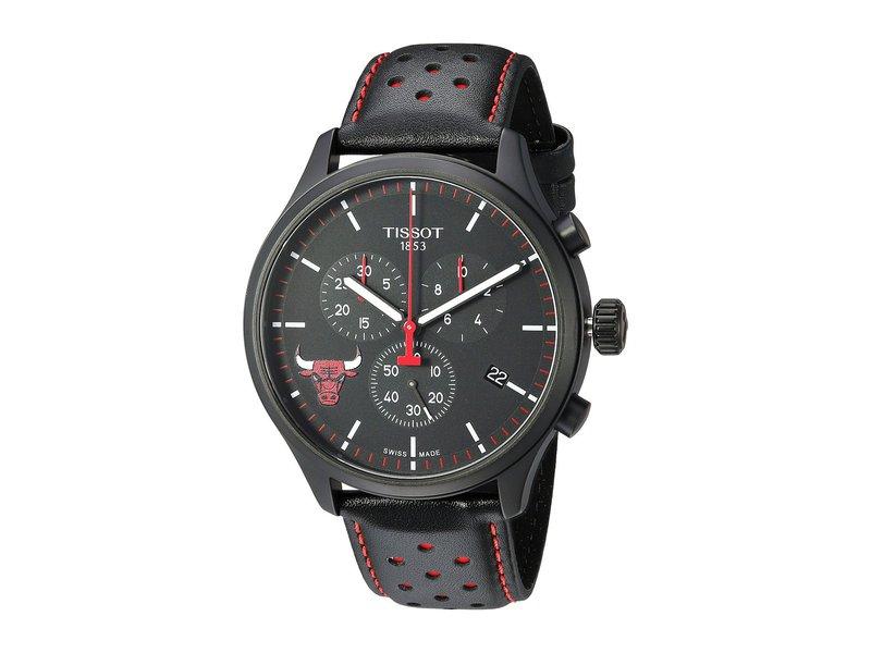 ティソット メンズ 腕時計 アクセサリー Chrono XL NBA Chronograph Chicago Bulls - T1166173605100 Black/Black/Red