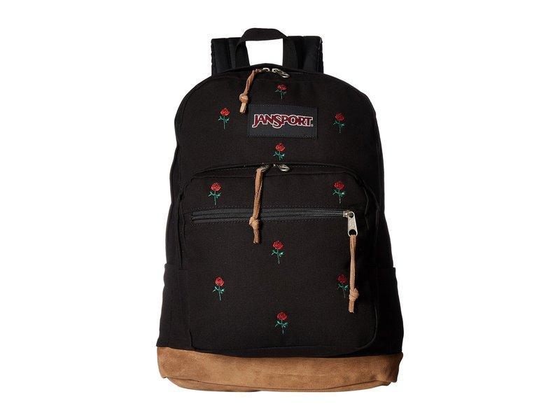 ジャンスポーツ メンズ バックパック・リュックサック バッグ Right Pack Expressions Embroidered Roses