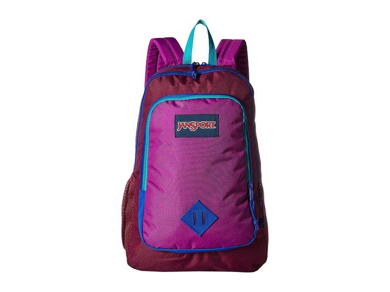 ジャンスポーツ メンズ バックパック・リュックサック バッグ Super Sneak Raisin Purple/Purple Plum