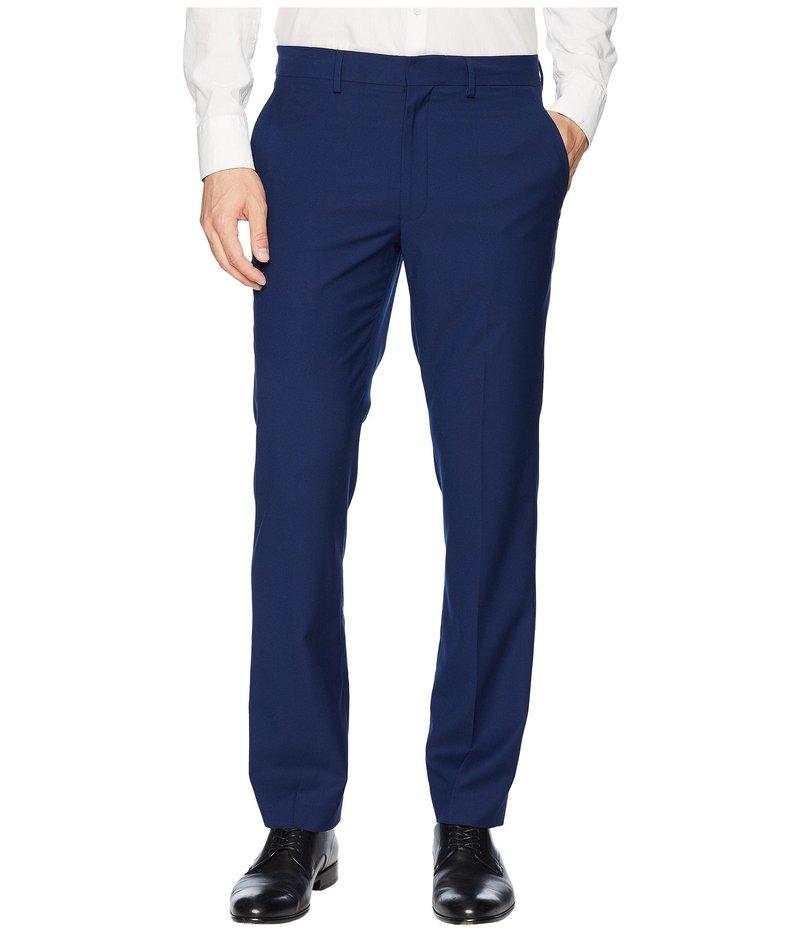 ケネスコール メンズ カジュアルパンツ ボトムス Techni-Cole Suit Separate Pants Stretch Modern Blue