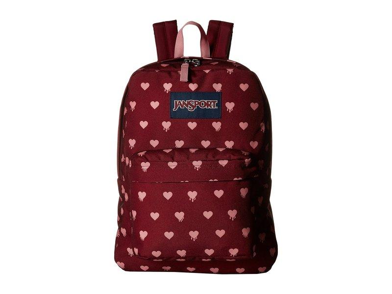 ジャンスポーツ メンズ バックパック・リュックサック バッグ SuperBreak Russet Red Bleeding Hearts