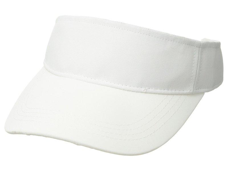 オニア メンズ 帽子 アクセサリー Ryan Visor White